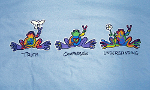 Peace Frogs Kids Truth, Compassion, Understanding Short Sleeve T-Shirt