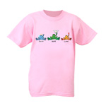Peace Frogs Faith Hope Love Short Sleeve Kids T-Shirt