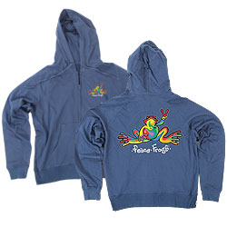 Hooded Full Zipped French Terry Screen Printed Sweatshirts