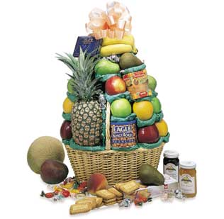 The Grand Cheer Gourmet Fruit Basket