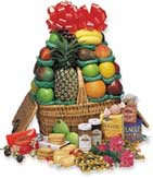 Good Cheer Gourmet Fruit Basket  Hampers - The Cheer Leader