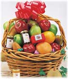 Orchard Bounty Fruit and Gourmet Gift Basket