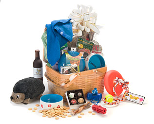 Doggie Care & Share Basket