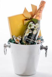 Champagne & Godiva Chocolates