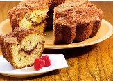 Cinnamon Raspberry Coffee Cake