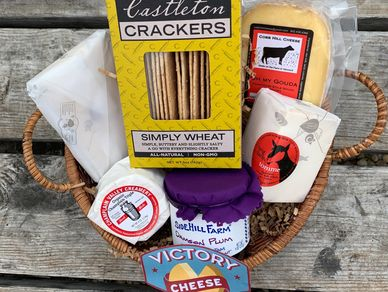 Victory Cheese Basket