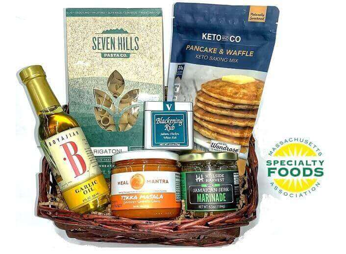 Massachusetts Specialty Foods Thank You Basket - C (Small)