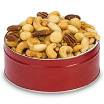 Assorted Mixed Nuts Gift Tin