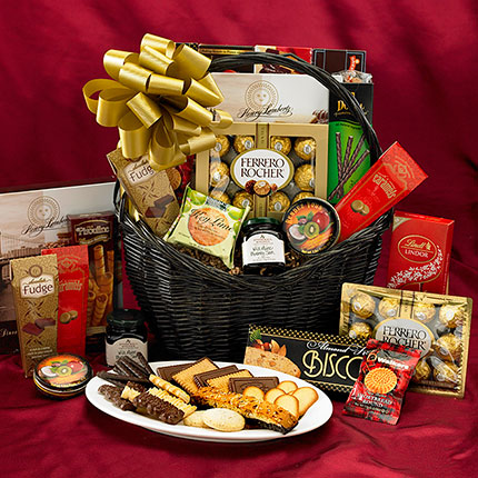 Best Wishes Gift Basket & Unique Gift Baskets Wine Gift Baskets gift baskets Boston | Rumau0027s ...