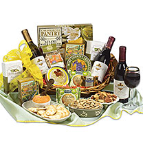 California Dreaming Wine Basket