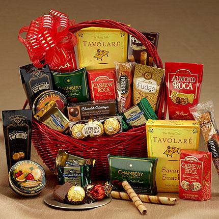 Casablanca Gift Basket & Gourmet Gifts Gourmet Food Baskets Delivered Wine Gift baskets ...