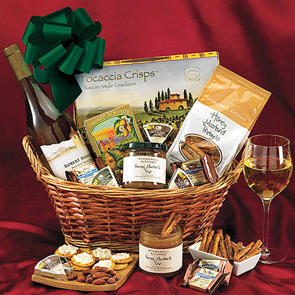 Happy Hour Wine Gift Basket