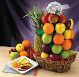 In Our Thoughts Sympathy Fruit Gift  - Royal