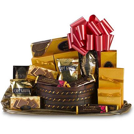 Royal Godiva Classic Gift Basket