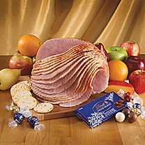Spiral Ham and Fruit Tray