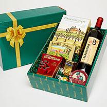 Artisan Wine and Snack Gift Box