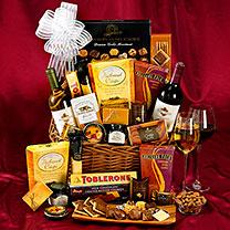 Wine Cellar Gift Basket