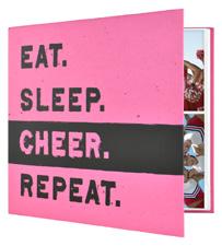 MBI 12x12 Cheerleading Scrapbook