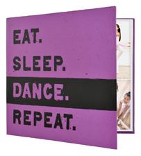 MBI 12x12 Dance Scrapbook