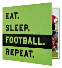 MBI 12x12 Football Scrapbook
