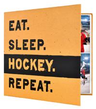 MBI 12x12 Hockey Scrapbook