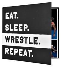 MBI 12x12 Wrestling Scrapbook