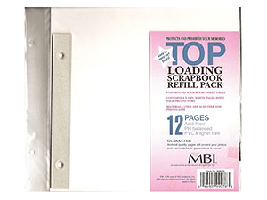 MBI 8x8 Refill Pages