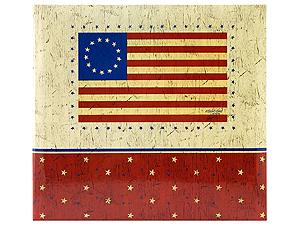 MBI Americana Flag 12x12 Scrapbook