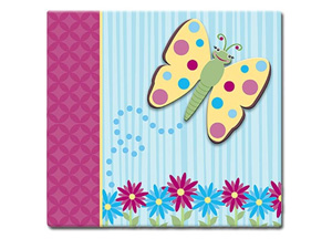 MBI 3D Butterfly 12x12 Kids Scrapbook