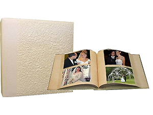 MBI Embossed Gardenia 4x6 Tabletop Album