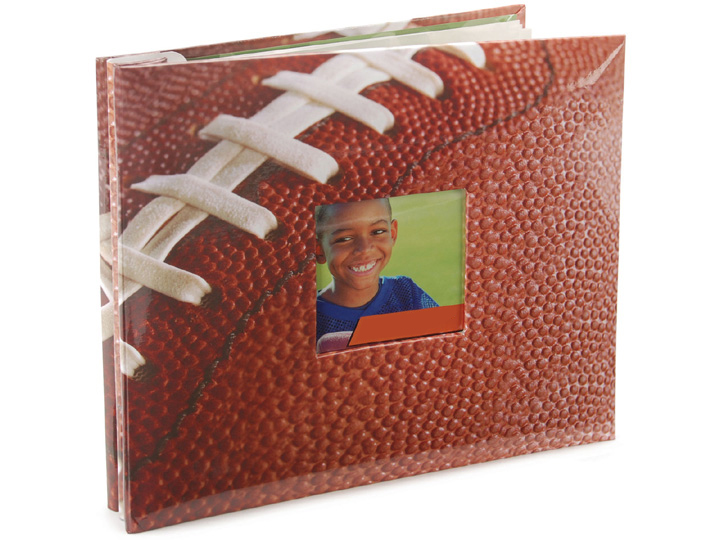 Mbi 8x8 Football Scrapbook Acrylicframehorizontal