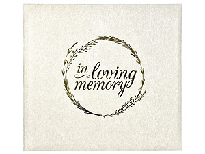 MBI In Loving Memory 12x12 Memorial Scrapbook
