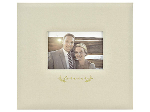 MBI Forever 12x12 Linen Fabric Wedding Scrapbook