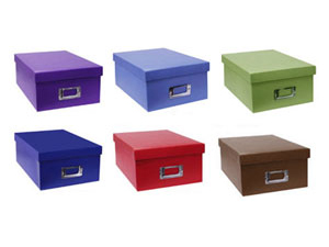 Pioneer B1 S Photo Storage Boxes Solid Colors