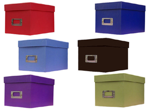 sc 1 st  Get Smart Products & Pioneer Photo CD/DVD Storage Box (Solid Colors)
