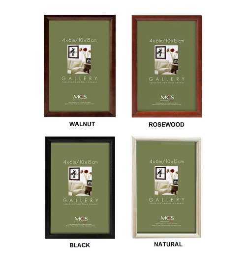 Mcs Bullnose Tabletop Picture Frames