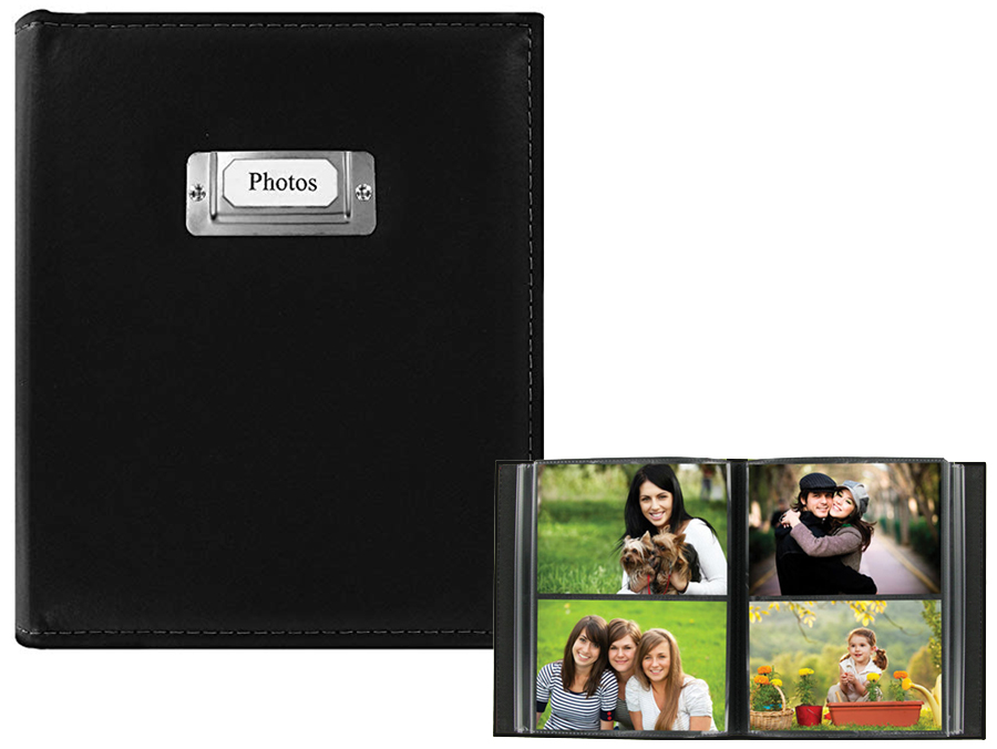 Pioneer Cts 246 4x6 Sewn Photo Album With Silver Id Plate