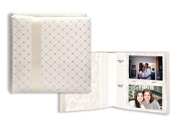 Pioneer Da 200fdr Ivory Fabric Wedding Photo Album