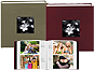 Silk Fabric Photo Albums with Frame Cover