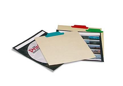 Print File Cd Tabbed Dividers 12 Pack