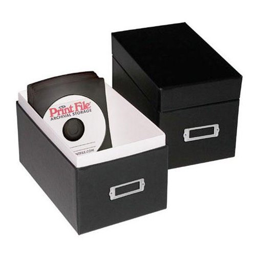 Print File Cd Portfolio Box Urbanflatscrapbookframe