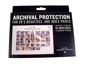 John Porter Envelopes for CD or 4x6 Prints (10 Pack)