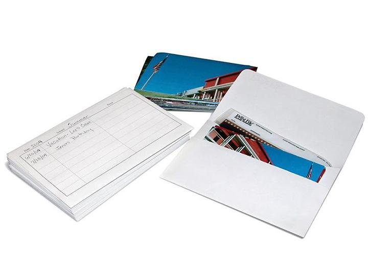 Print File Archival Photo Storage Envelopes 25 Pack