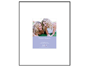 MCS 11x14 Format Museum Frame w/Mat For 5x7 Photo