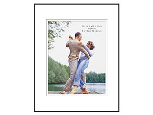 MCS 11x14 Format Shadow Mat Frame w/8x10 Opening