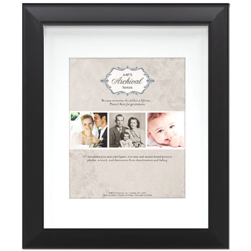 MCS Archival Series Picture Frame 8x10 for 5x7