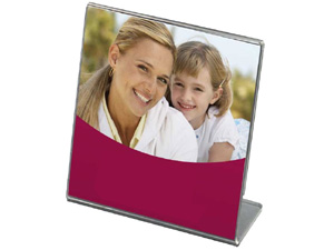 Saflin Extra Sturdy Bent Acrylic Frame 5x5 Square