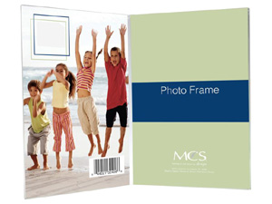 Bent Acrylic Picture Frames - Double Vertical
