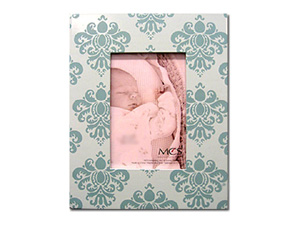 MCS Baby Damask Picture Frame for 4x6