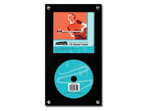 MCS Black Onyx CD Display Frame